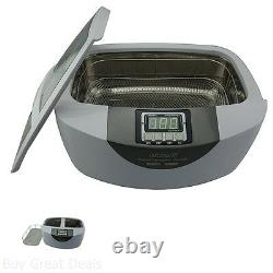 Commercial Ultrasonic Cleaner Cleaning Dental Instruments and Silverwear 2.5L