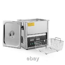 Commercial Ultrasonic Jewelry Cleaner Machine (10 Liter) Sweep & Degassing