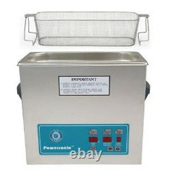 Crest P500D-45 Ultrasonic Cleaner with Power Control-Perf Basket