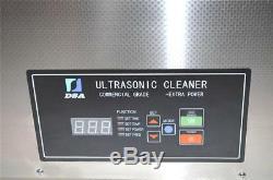 DSA800SE-GL2 30L 1600W DUAL 20KHz or 40KHz ULTRASONIC PARTS CLEANER +BASKET +LID