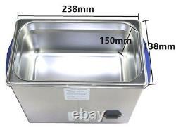 Derui Ultrasonic Cleaner 4.5L DR-P45 Full-featured Lab Dental Hospital Machine