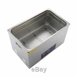 Digital 30L Ultrasonic Jewelry Cleaning Cleaner Machine with Heater, Timer