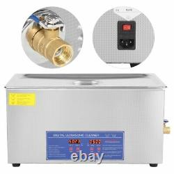 Digital Ultrasonic Cleaner 2-30L Heated Timer Stainless Steel Ultra Sonic Clean