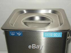 Dsa70se-sk2 3l 3.17qt 270w Digital Heated Industrial Ultrasonic Parts Cleaner