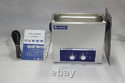 Durasonix 6.5 Litre knob Controlled Ultrasonic Cleaner with Heater Stainless