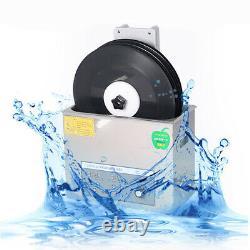 Electric 6L Liftable LP Album Disc Vinyl Record Digital Ultrasonic Cleaner 40KHZ
