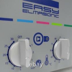 Elmasonic EASY 30/H Ultrasonic Cleaner Tank 2.75 Litres With Lid Elma HU134