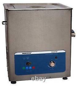 Heated Ultrasonic Cleaner 15 Liter 4.5 Gal By Sharpertek