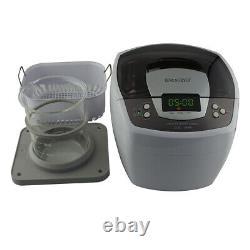 ISonic Ultrasonic Cleaner P4810 2.1Qt+1L Beaker Holder Set Liposomal Vit C, 110V