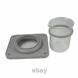 ISonic Ultrasonic Cleaner P4810+500ml Beaker Holder Set DIY Liposomal Vit C, 110V
