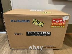 Klaudio Lp200 LP Record Ultrasonic Cleaner New In Sealed Box. Rare Hard To Get