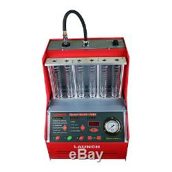 LAUNCH CNC602A Ultrasonic Fuel Injector Tester & Cleaner for Petrol Car Auto