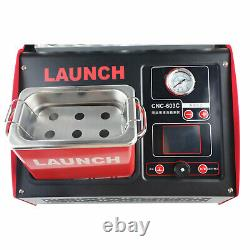 Launch CNC603C Fuel Injector Leakage Tester Ultrasonic Cleaner Machine 110/220V