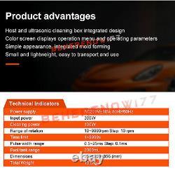 Launch CNC603C Ultrasonic Fuel Injector Cleaner Tester 6 Cylinder Gasoline 220V