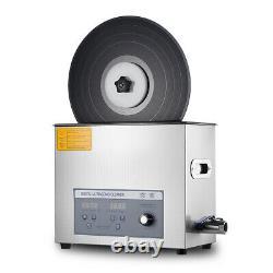 Liftable Ultrasonic Cleaner for Vinyl Records LP Album Disc Washing Machine