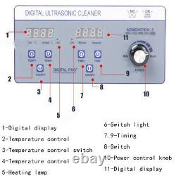 Liftable Vinyl Record Cleaner LP Album Disc Ultrasonic Deep Washing Machine110V