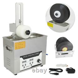 Liftable Vinyl Record Ultrasonic Cleaner LP Album Timing Washing Machine Disc