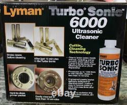 Lyman 7631725 Turbo Sonic 6000 Ultrasonic Cleaner Large Capacity BRAND NEW