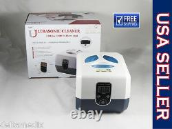 Medical Dental Jewelry Ultrasonic Cleaner Washer Digital 1300 ML 220V dentQ
