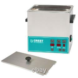 NEW! Crest POWERSONIC CP360D 1.0 Gal. Heated Ultrasonic Cleaner 2 yr Warranty