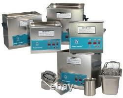 NEW! Crest Powersonic P230H-45 0.75 Gal Heated Ultrasonic Cleaner, 0230PH045-1