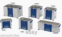 NEW! Elma Sonic P60H 1.5 Gal Ultrasonic Cleaner, Digital Control, 37 and 80Khz