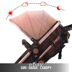 New Baby Carriage Foldable Travel System Stroller Buggy Pushchair Pram