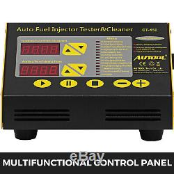 Original Autool CT150 Ultrasonic Fuel Petrol Injector Cleaner & Tester 4Cylinder