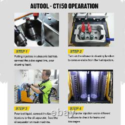 Original CT150 Ultrasonic Fuel Injector Tester Cleaner for Petrol Car Motorcycle