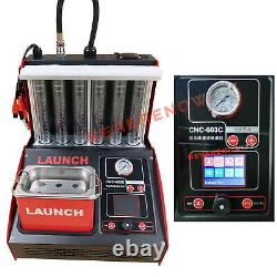 Original Launch CNC603C Ultrasonic Fuel Injector Tester Cleaner Cleaning Machine