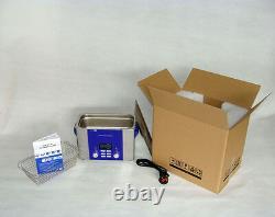 PCB Digital Ultrasonic Cleaner Sweep Pulse Degas Power Adjustable DR-P45 4.5L