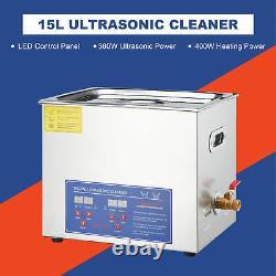Preenex 0.6L/2L /3L /3.2L / 6L/ 10L/ 15L/ 30L Ultrasonic Cleaner With Timer Heater