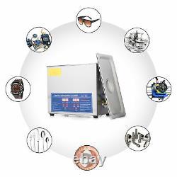Preenex 6L 1.6Gal Professional Ultrasonic Cleaner with Digital Timer & Heater