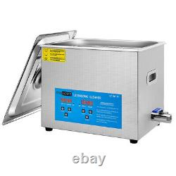 Professional 10L Ultrasonic Cleaner Cleaning Equipment Jewelry Watch Coin Glass