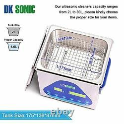 Professional Ultrasonic Cleaner Dk Sonic Sonic Cleaner With Heater And Basket