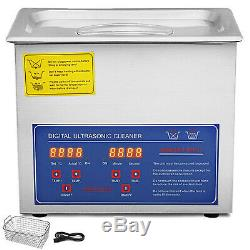 Stainless Steel Industry Ultrasonic Cleaner 3L Heated Heater withTimer