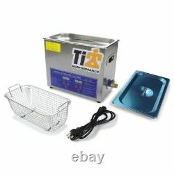 Ti22 Performance 8580 Ultrasonic Cleaner with 9 in. Stainless Basket NEW