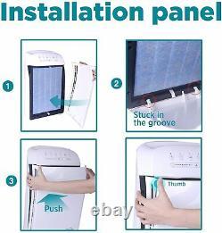 True HEPA Air Purifier, Large Room Air Cleaner&Deodorizer 840SqFt 4 Filter Stages