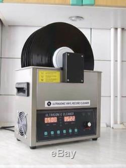 ULTRASONIC2-RECORD-CLEANER-DIY adjustable power and variable frequency