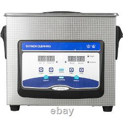 Ultrasonic Cleaner 3.2L 60/120w Degas Ultrasonic Machine Digital Sonic Cleaner