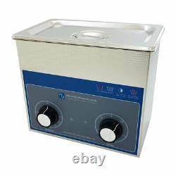 Ultrasonic Cleaner 3 Litre Professional Dial Tank Heated Ultrasonic Bath