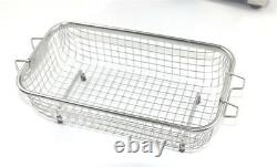 Ultrasonic Cleaner 3L With Sweep Degas Pulse Power Adjustable 160W Dental PCB