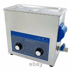 Ultrasonic Cleaner 6 Litre Tank Kit For Machine Parts & Carburettors Mechanics