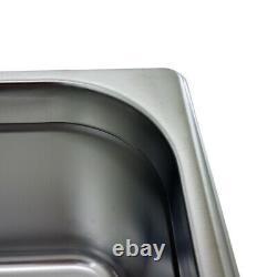 Ultrasonic Cleaner 9 Litre Professional Dial Tank Heated Ultrasonic Bath