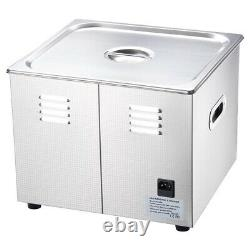 Ultrasonic Cleaner 960W 15 L Stainless Steel Industry Heated with Digital timer