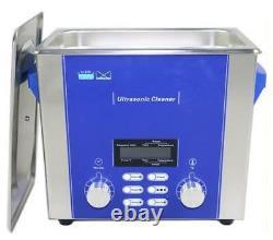 Ultrasonic Cleaner DR-P30 3L Sweep Degas Pulse Power Adjustable 160W Dental Lab