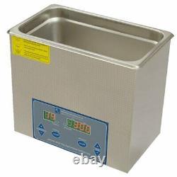 Ultrasonic Cleaner Kit 3 Litre Tank metal Plastic Home/ Professional Cleaner