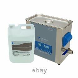 Ultrasonic Cleaner Kit 6 Litre machine parts & carburettors mechanics machinist