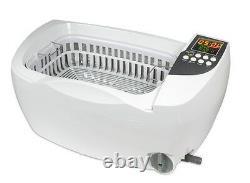 Ultrasonic Cleaner P4830-220V(3L, 30-min timer, drain, heater, Euro or Aus plug)