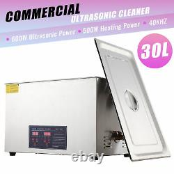 Ultrasonic Cleaner Stainless Steel Industry Heated Heater withTimer 30L
